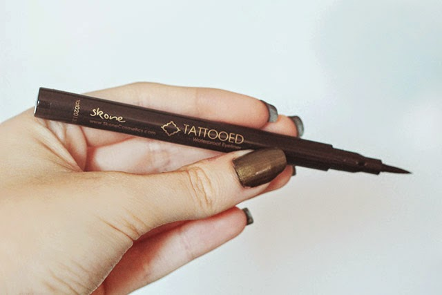 October 2014 ipsy bag unboxing the geeky fashionista for Skone tattooed eyeliner