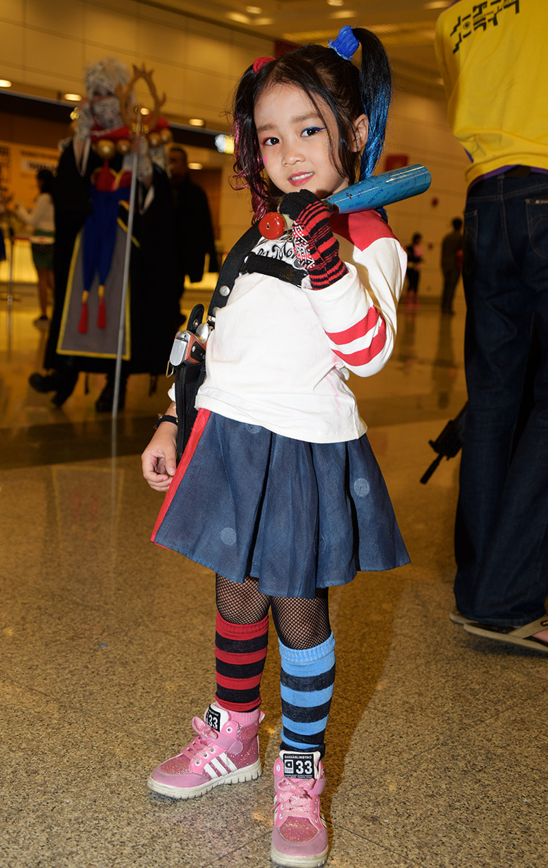 Bangkok Comic Con Cosplay - Child Harley Quinn