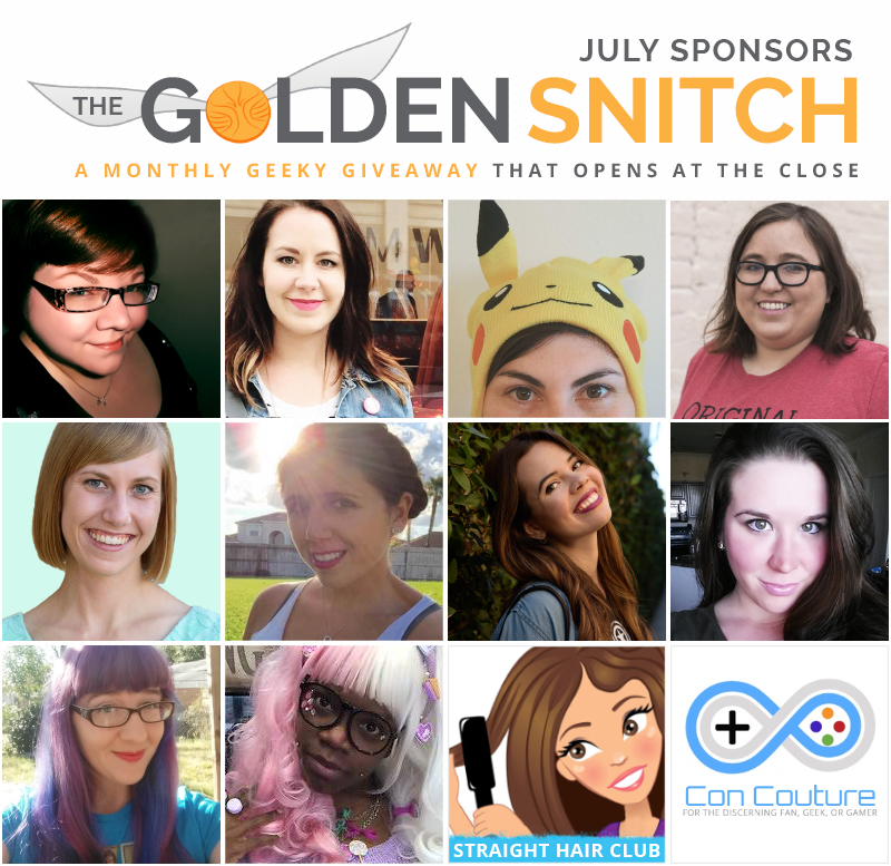 The Golden Snitch July Sponsors