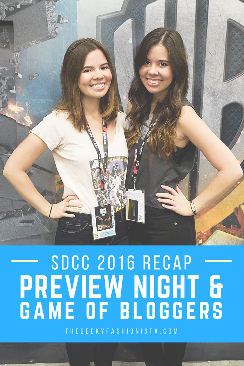 SDCC Preview Night