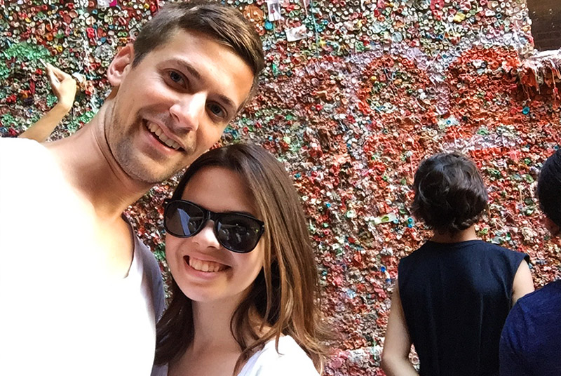 Seattle - Gum Wall