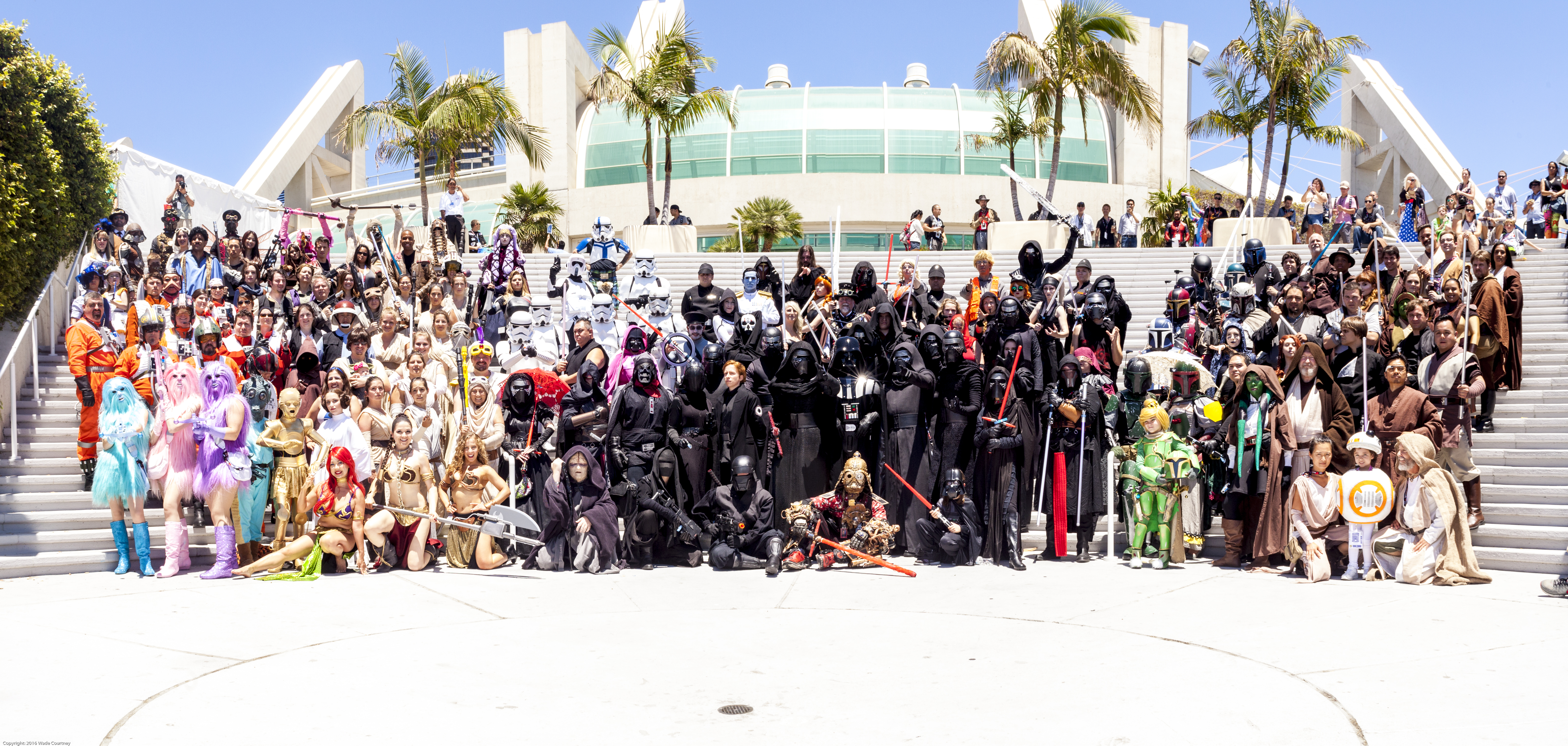 SDCC Star Wars Cosplay Group Photoshoot