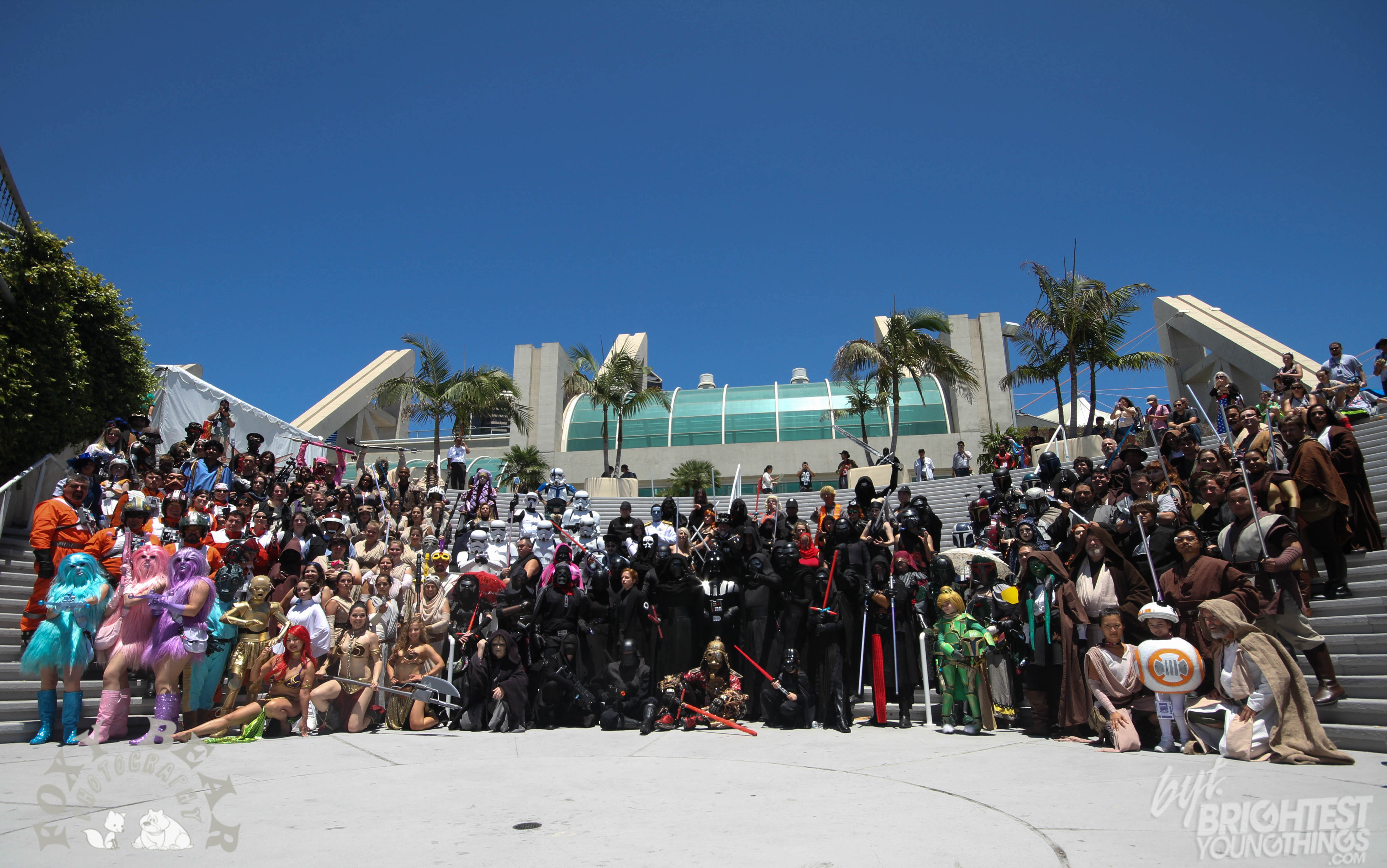 SDCC Star Wars Cosplay Group