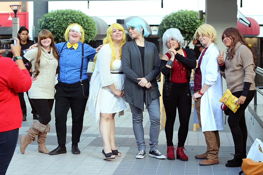 Mystic Messenger Group Cosplay