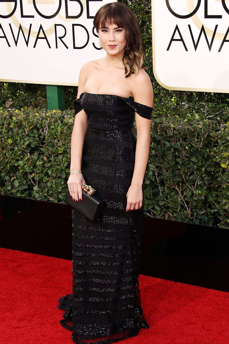 Golden Globes Best Dressed - Alex Hudgens // The Geeky Fashionista