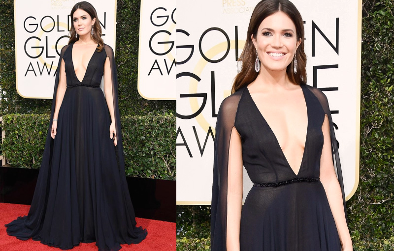 Golden Globes Best Dressed - Mandy Moore // The Geeky Fashionista