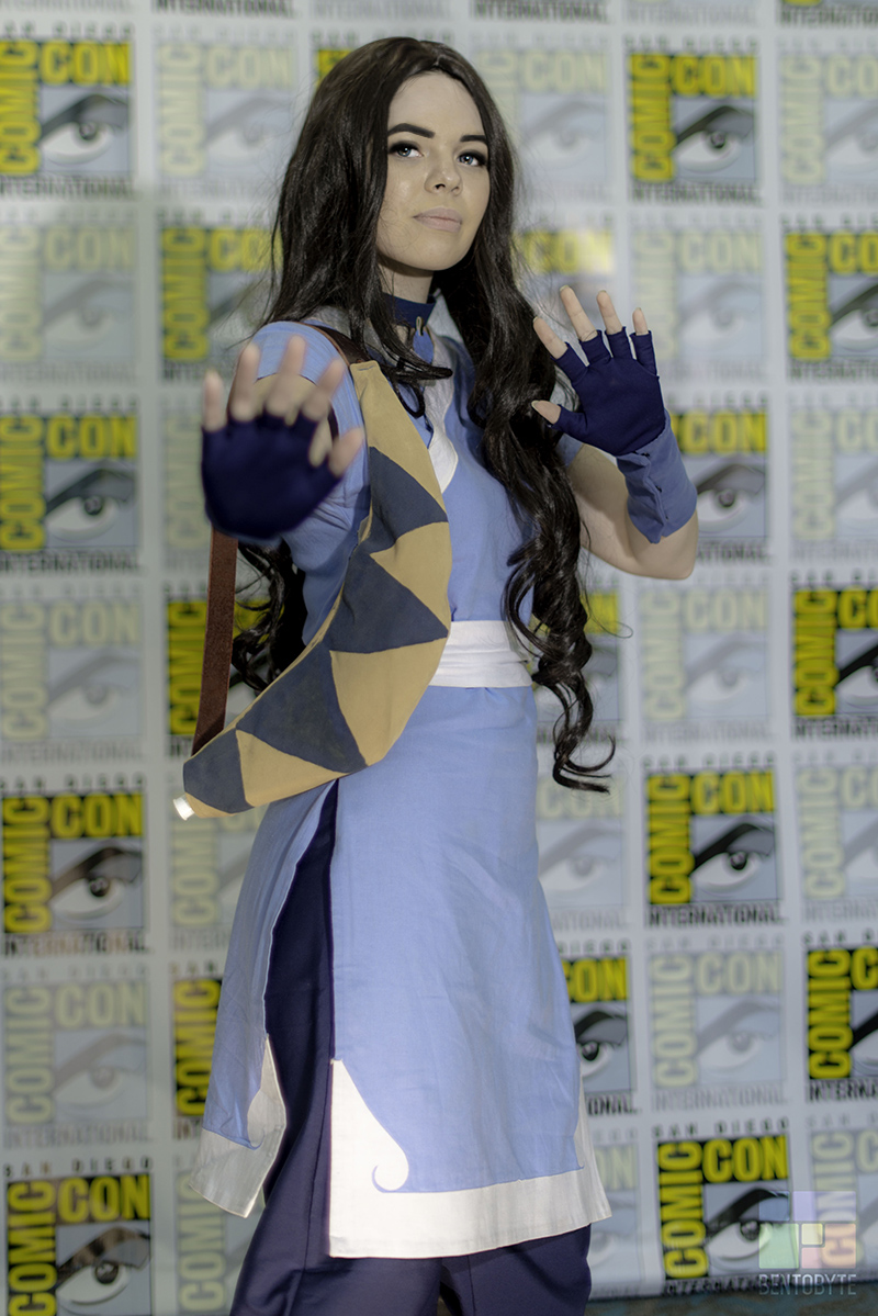 San Diego Comic Con 2017 Katara Cosplay // The Geeky Fashionista