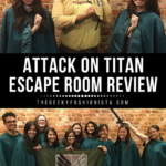 Attack On Titan Escape Room Review // The Geeky Fashionista
