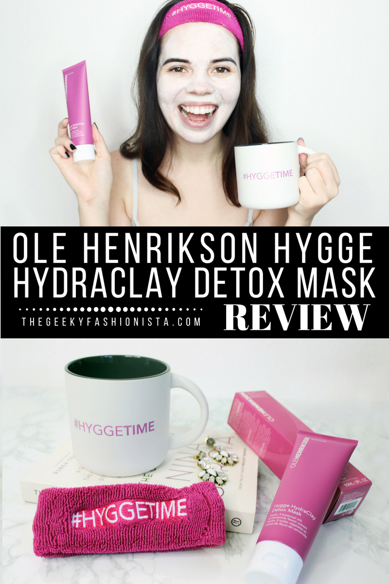 Ole Henriksen Hygge Detox Mask Review // The Geeky Fashionista