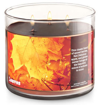 Leaves Candle // The Geeky Fashionista