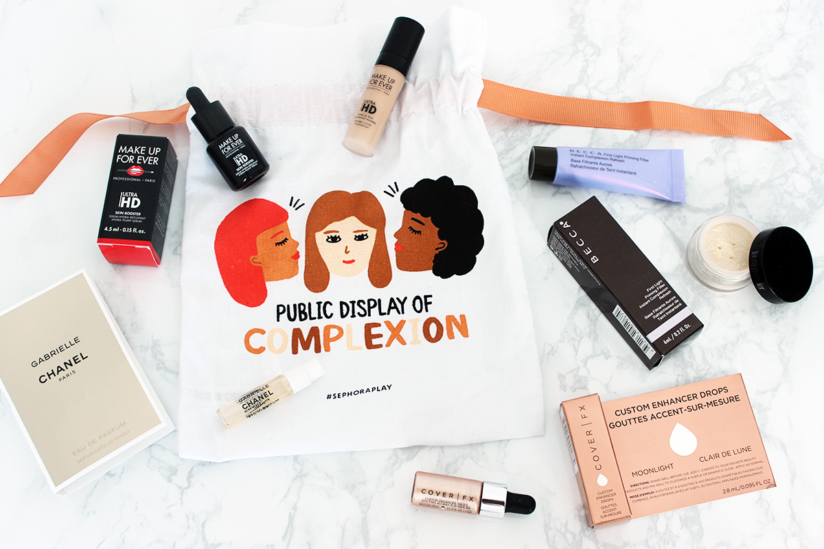 October Sephora Play! Box // The Geeky Fashionista