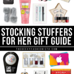 Christmas Stocking Stuffers For Her Gift Guide // The Geeky Fashionista