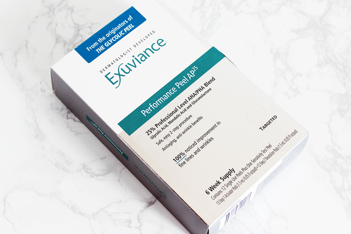Exuviance Performance Peel AP25 Review // The Geeky Fashionista