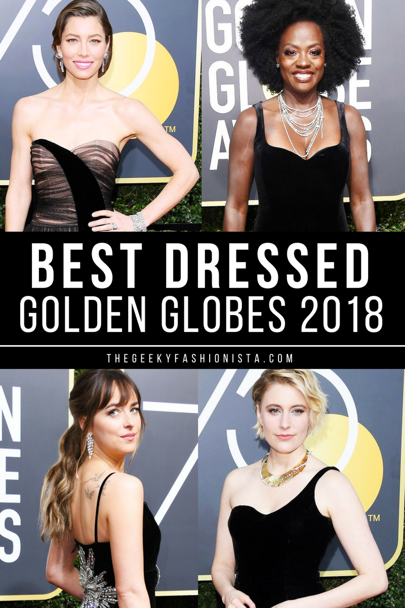 bfd42f33d94 Golden Globes 2018 Best Dressed    The Geeky Fashionista