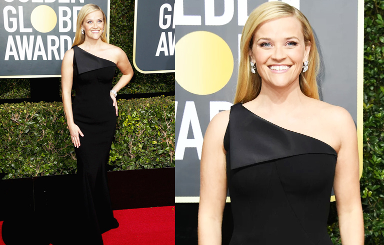Golden Globes Best Dressed - Reese Witherspoon // The Geeky Fashionista