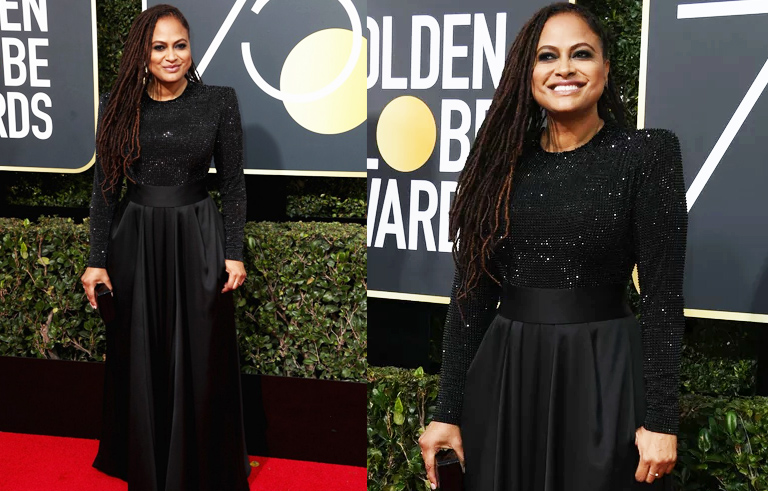Golden Globes Best Dressed - Ava DuVernay // The Geeky Fashionista
