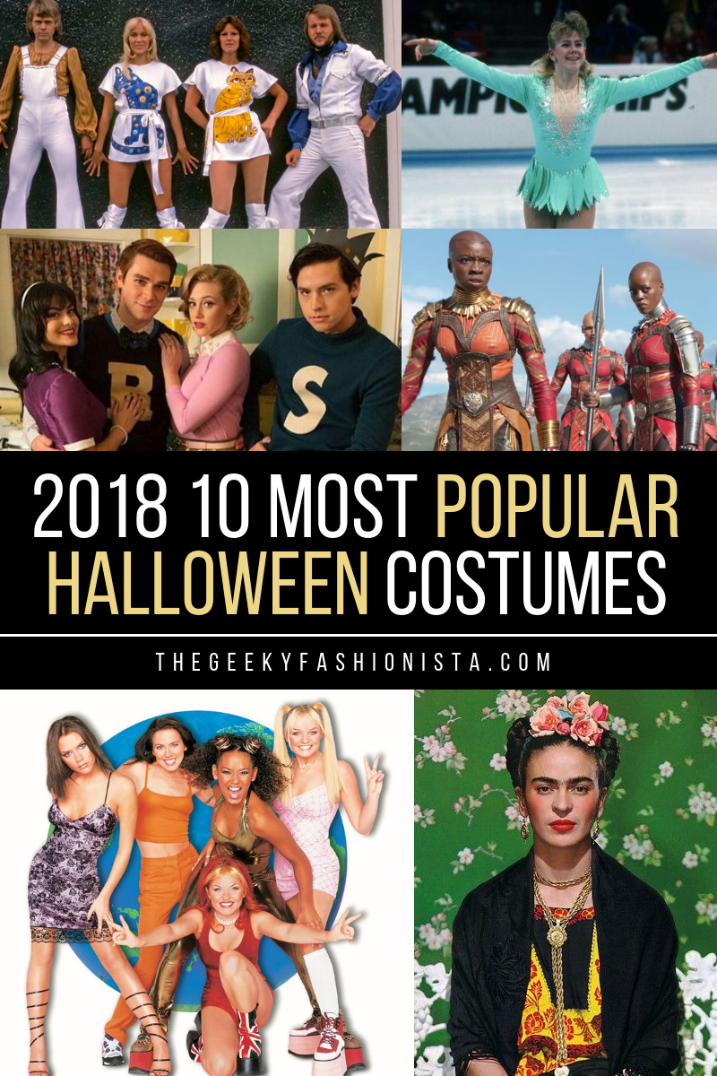 2018 top 10 most popular halloween costume ideas - the geeky fashionista