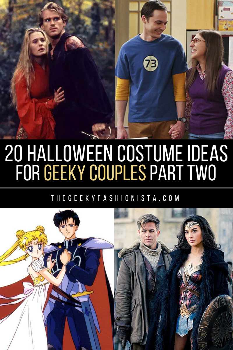20 halloween costume ideas for geeky couples part two - the geeky
