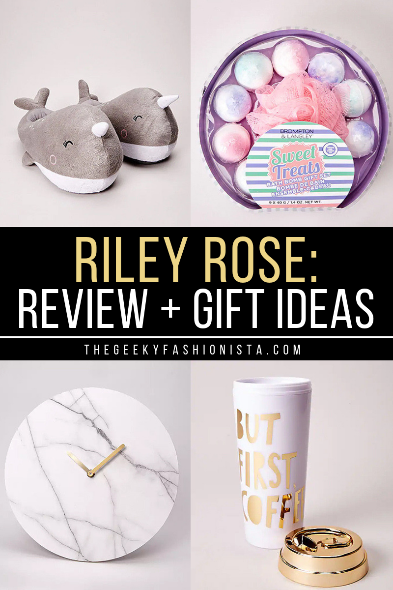 Riley Rose Review Gift Ideas The Geeky Fashionista